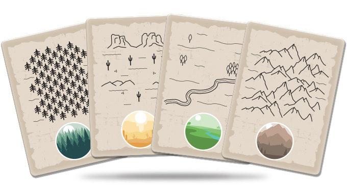 Marshals juego de cartas verkami eclipse editorial cartas de mapa