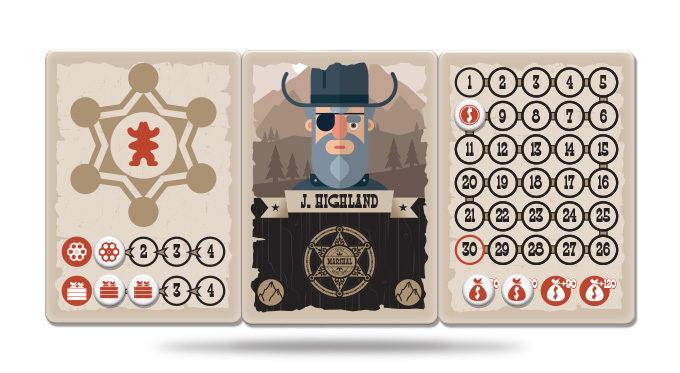 Marshals juego de cartas verkami eclipse editorial tableros de personajes