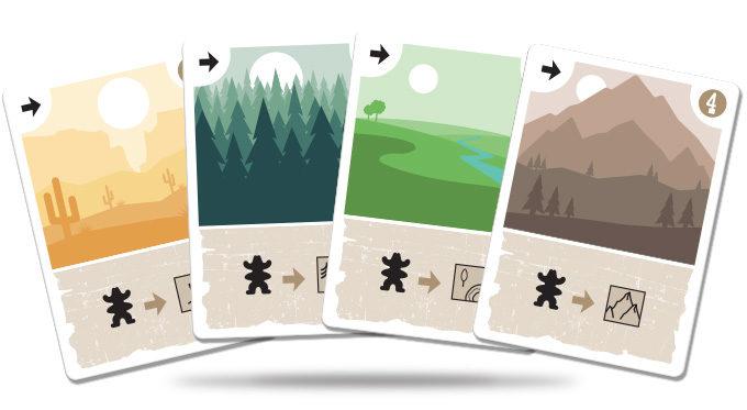 Marshals juego de cartas verkami eclipse editorial cartas de Movimiento