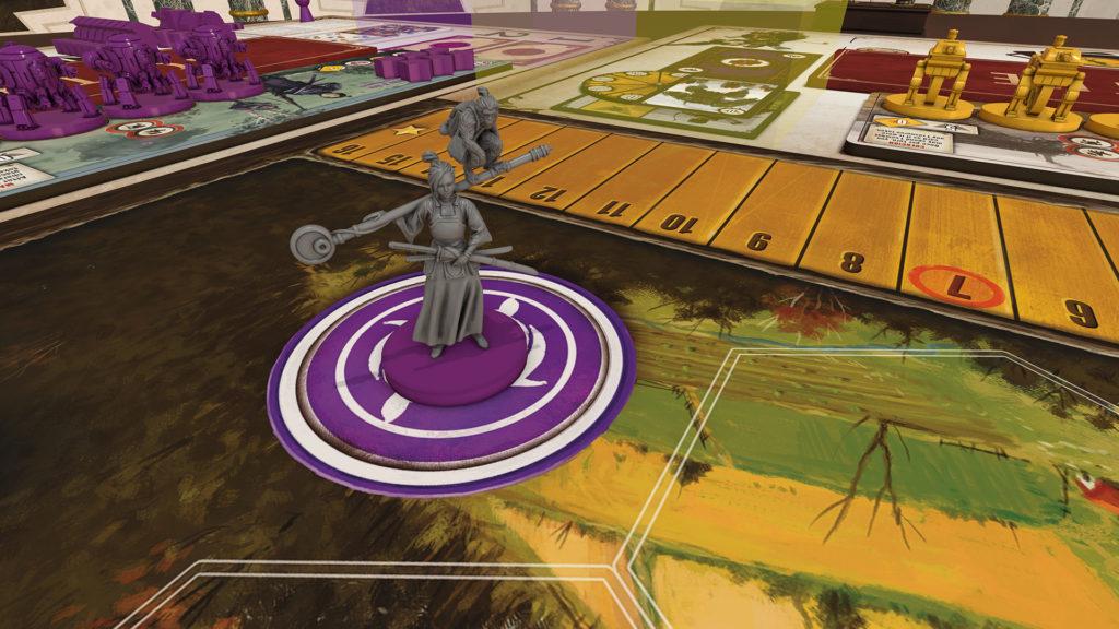 Scythe en la plataforma virtual Tabletopia.