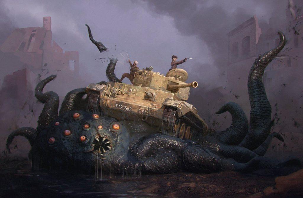 Achtung! cthulhu Lovecraft segunda guerra mundial