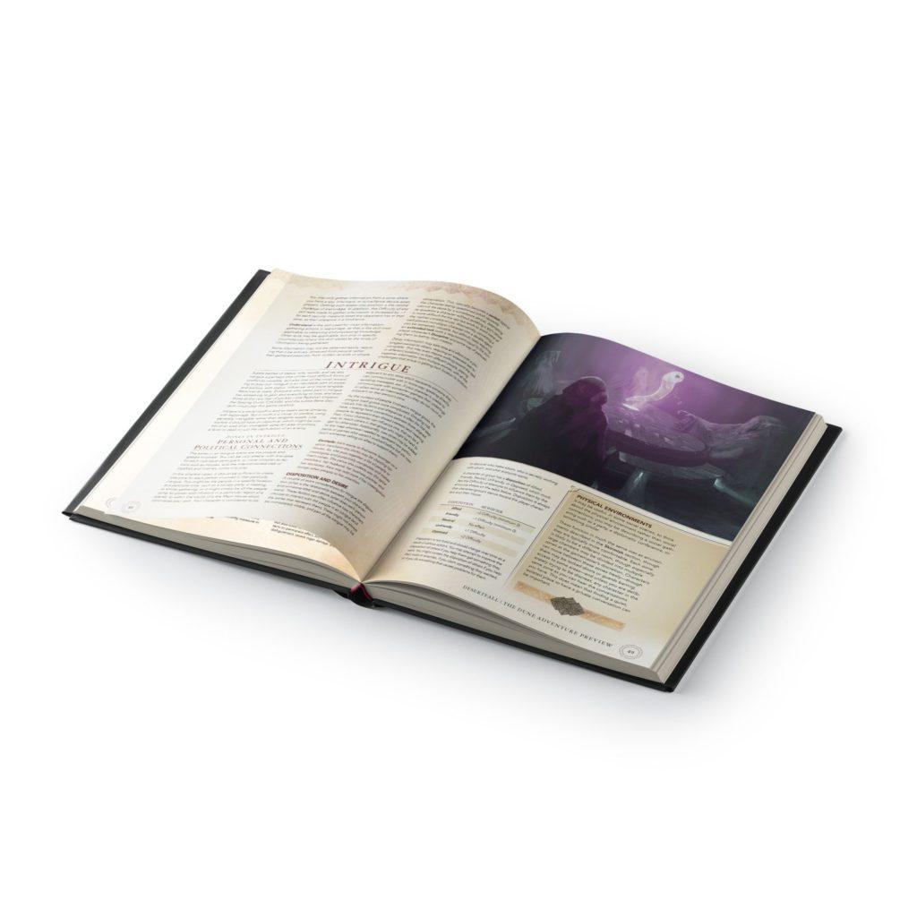 dune adventures in the imperium core rulebook standard edition dune adventures in the imperium modiphius entertainment 538892