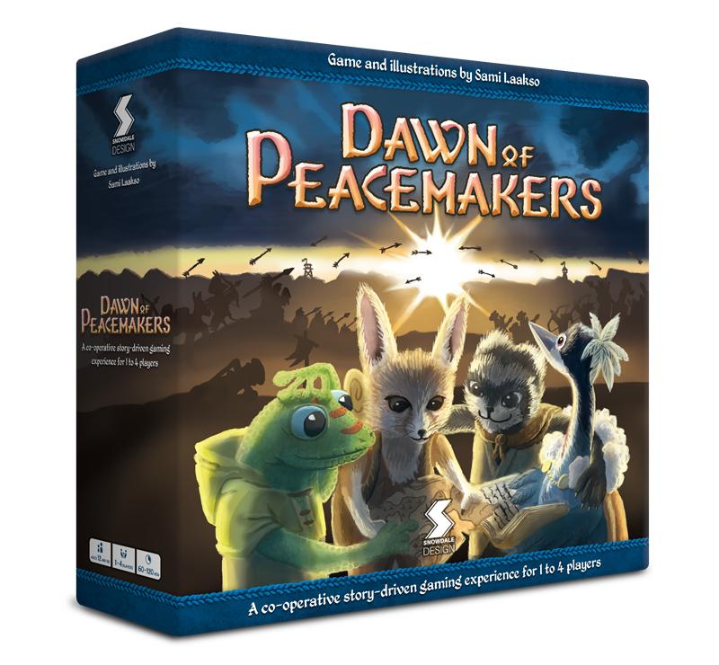 Caja de Dawn of Peacemakers