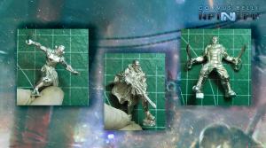 Con el nuevo sistema las piezas encajan fácilmente y producen miniaturas con poses altamente dinámicas