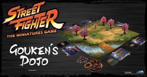 Street Fighter Miniatures Game Gouken's Dojo
