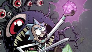 Rick y Morty Dungeons and Dragons