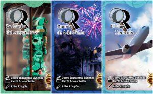 Misterios Q cajas de los juegos
