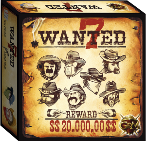 Wanted 7 juego de mesa (caja)