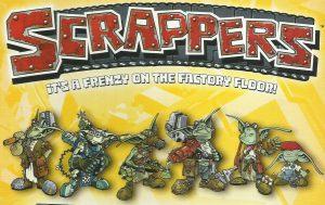 Scrappers un juego Bodgers de Privateer Press caja