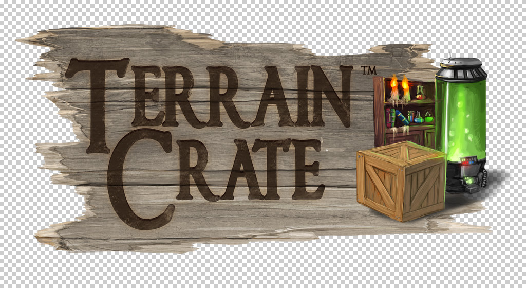 Terrain Crate from Matic Games Logo