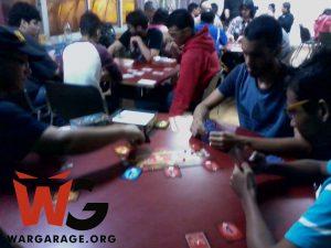 Game day con los Guerreros Azules jugando Wanted 7