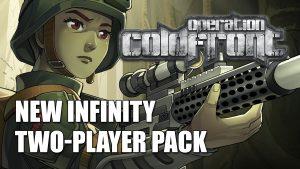 Lanzamiento de Infinity Operation Coldfront caja de inicio para dos jugadores