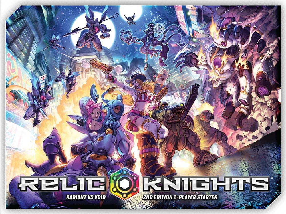 Relic Knights Segunda Edición caja de inicio
