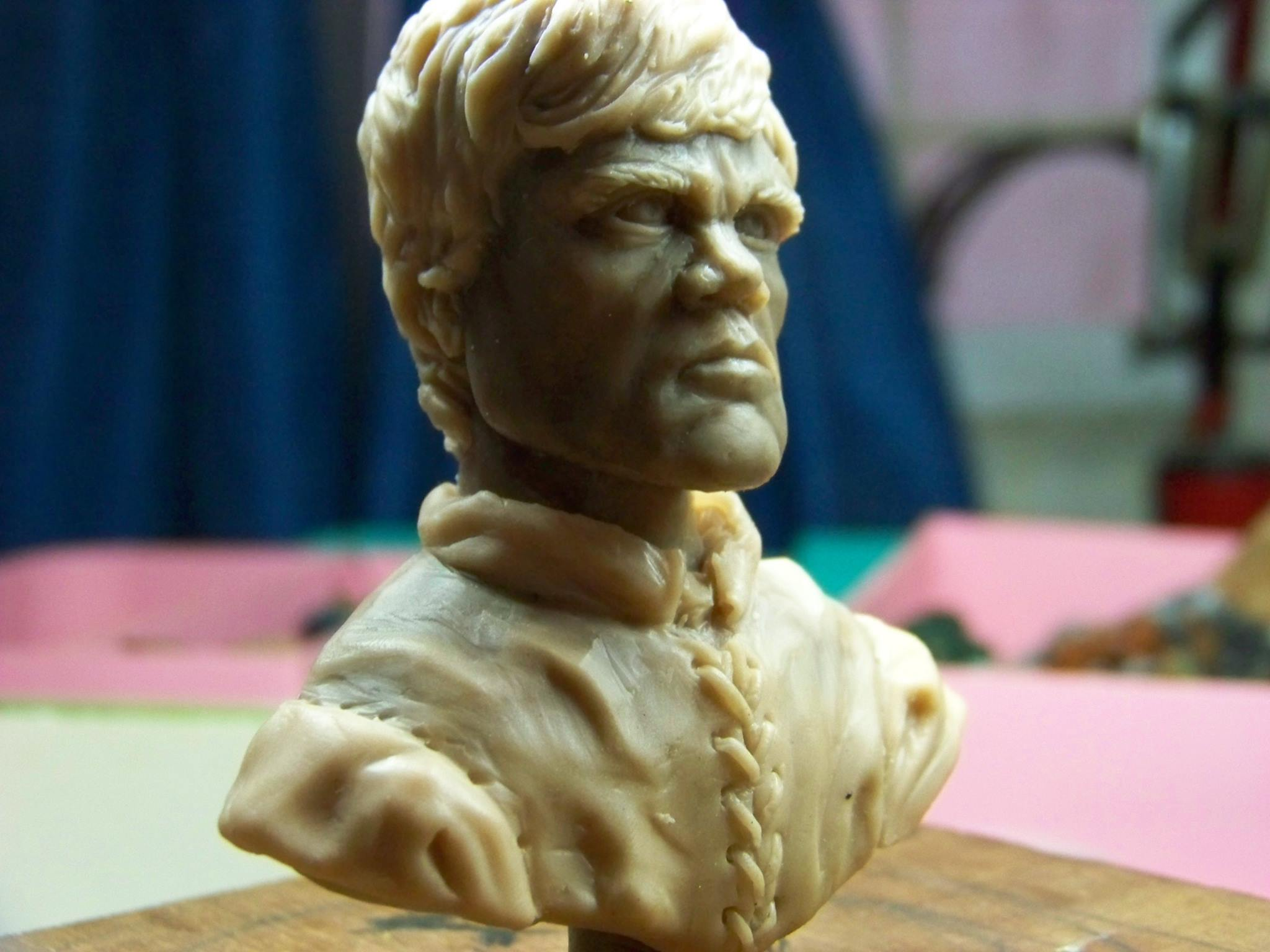 Busto de Tyrion Lannister por Isaac Gutierres de Dwarf's Forge Miniatures