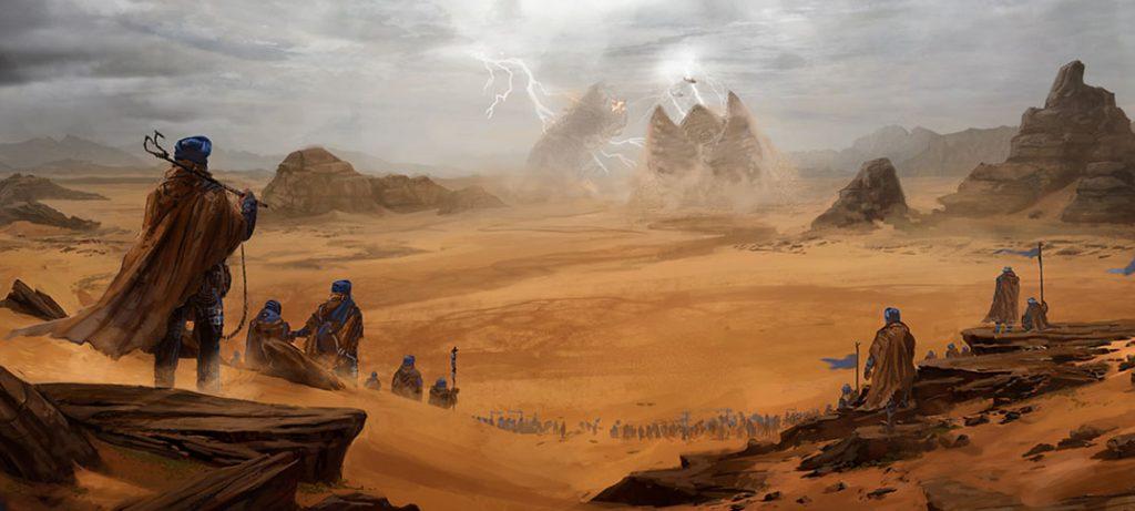 Frank Herbert Dune tendrá juegos de mesa de rol y wargames de miniaturas