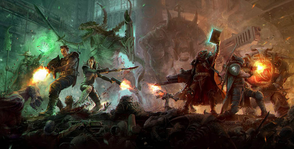 Warzone Resurrection juego de miniaturas de Mutant Chronicles