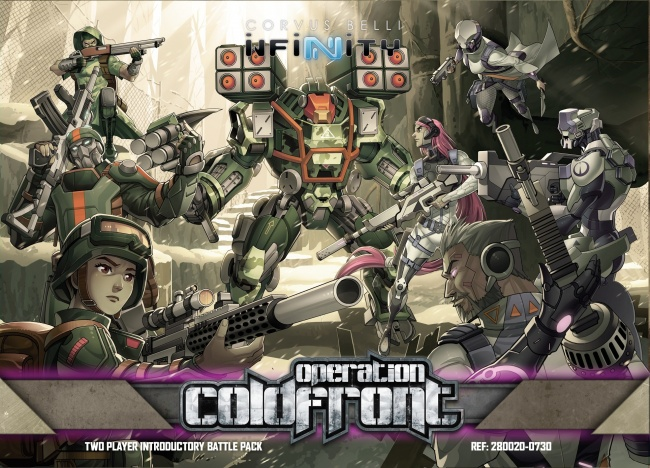 Infinity Operation: Coldfront Reseña de la nueva caja de Inicio de este juego de miniaturas