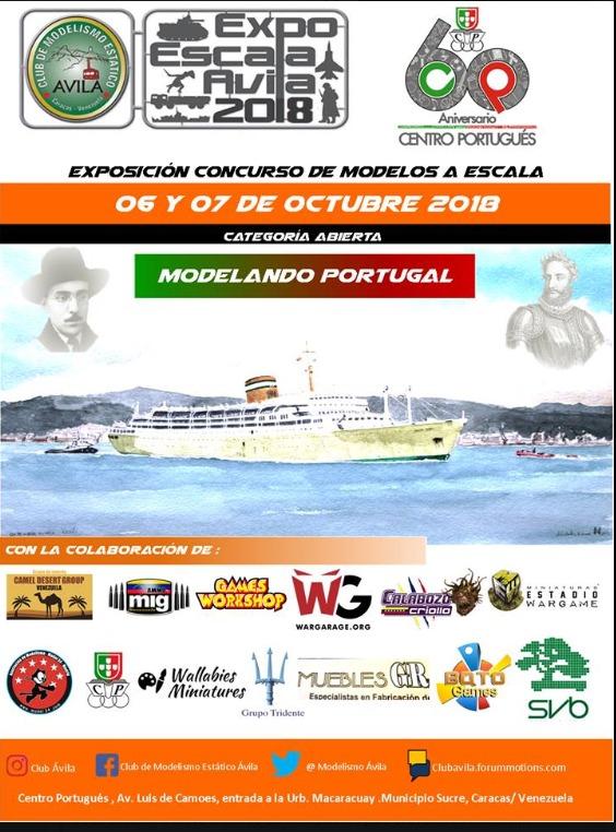 Expo Escala Ávila 2018 afiche