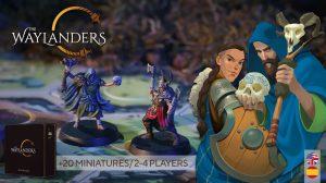 The Waylanders board game kickstarter launch