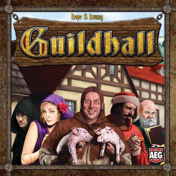 Guildhall Juego de Cartas Portada