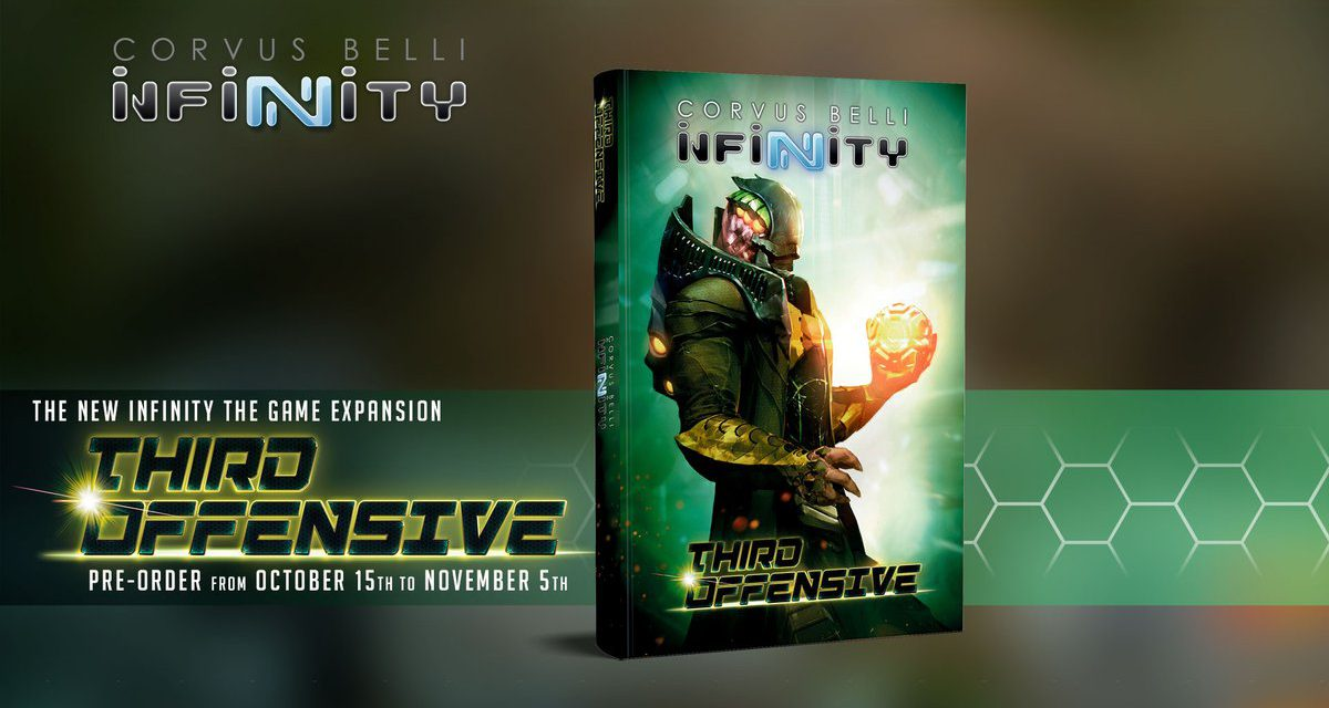 Infinity Third Offensive, the latest expansion for Infinity the Game