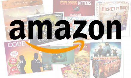 Top 10 juegos de mesa más vendidos en 2018 por Amazon