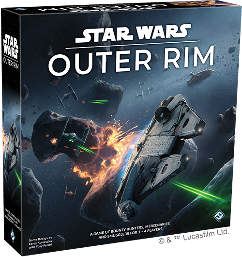 Star Wars Outer Rim Caja