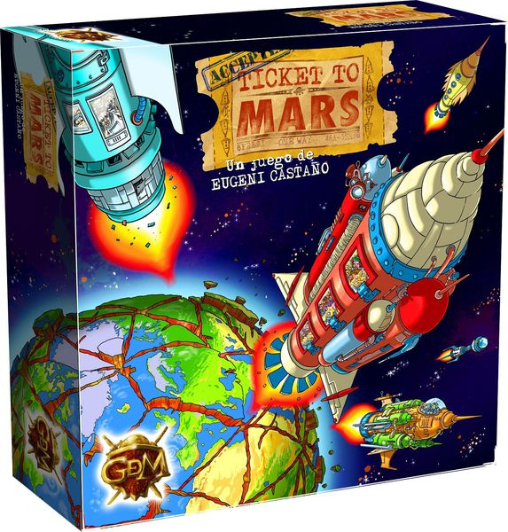 Caja Ticket to Mars