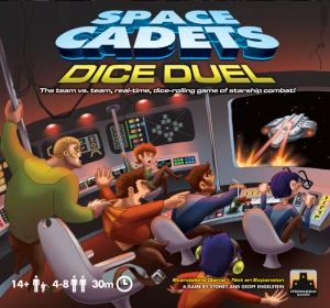 Space Cadets Dice Duel Portada Reseña