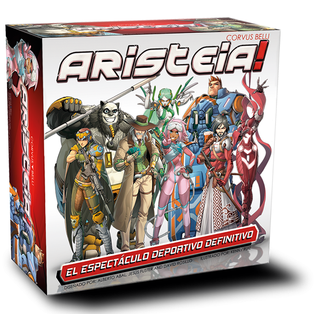 ARISTEIA! The favorite (Blood)Sport in Infinity's Human Sphere (REVIEW)