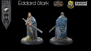 A song of ice and fire Cmon Eddar Stark by MIniaturas Estadio Wargame