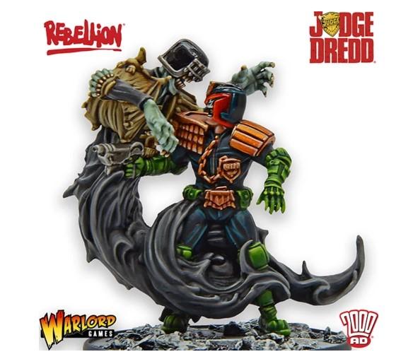 Judge Dredd juego de miniaturas