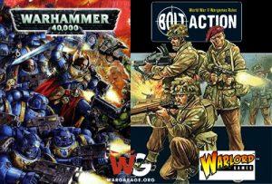 Bolt Action jugadores warhammer 40k