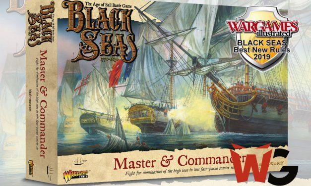 Black Seas, destapado de la caja de Inicio Master & Commander (unboxing)