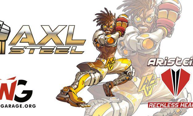 Axl Steel de Reckless Hearts, expansión para Aristeia! juego de mesa [Reseña/Análisis]