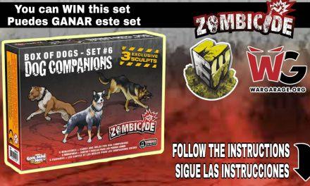 Miniaturas Estadio Wargame y Wargarage.org Sorteo Zombicide (Giveaway)