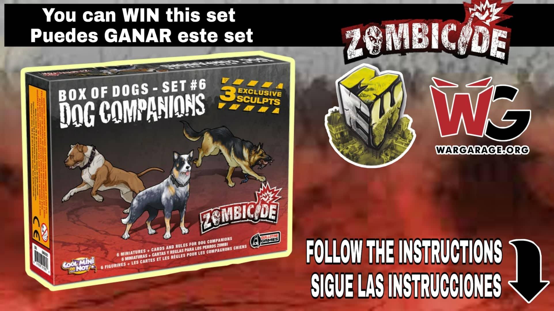 sorteo Zombicide giveaway