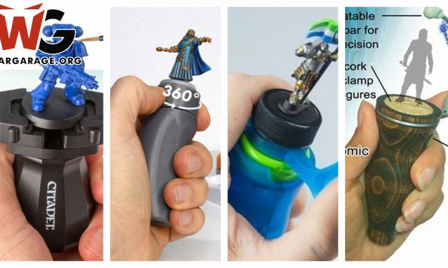 The Best miniature painting handles/holders (Top 4 )