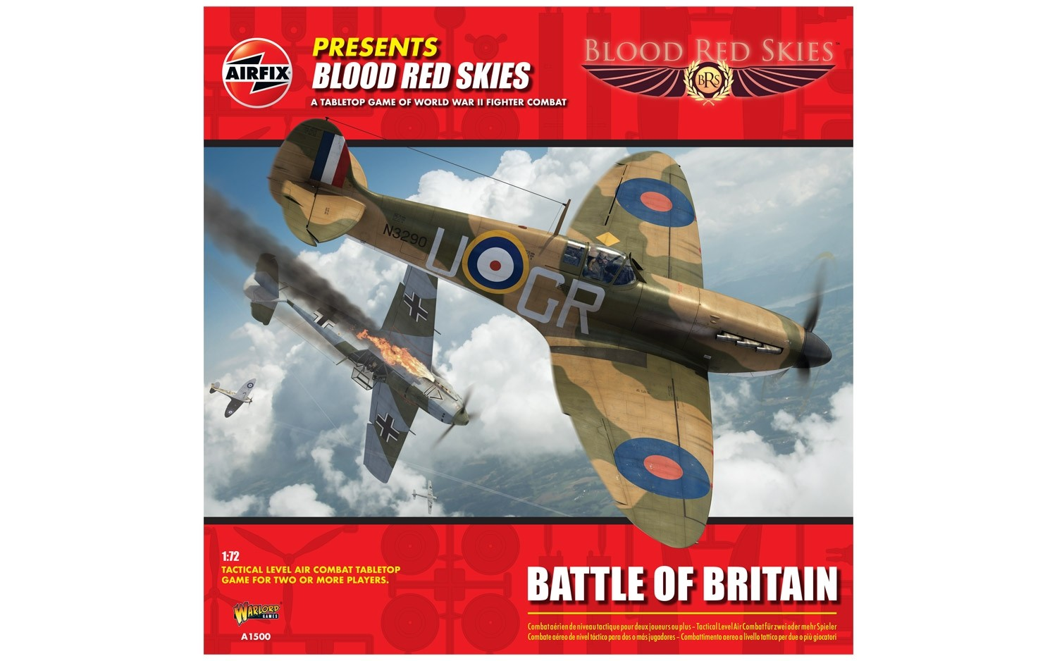 airfix warlord games blood red skies starter box 2