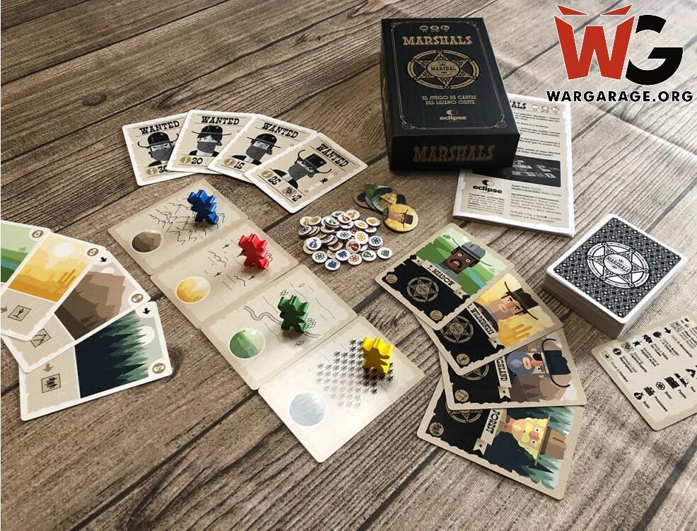 Marshals juego de cartas nueva campaña Verkami (con PnP gratis) de Eclipse Editorial